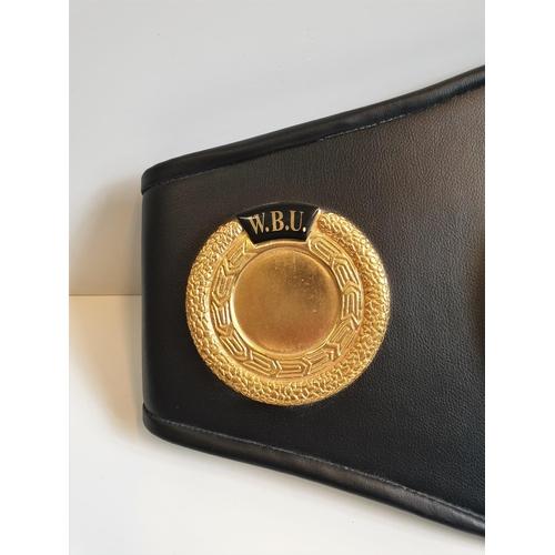 21 - World Champion WBU Boxing Belt...