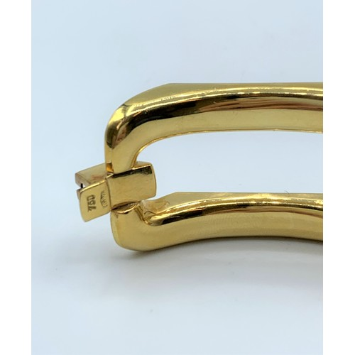 1 - 18ct White and Yellow Gold, Designer Bracelet. Weight 66.18g and 18cm long...