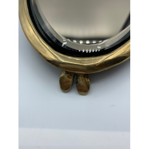 41 - Bronze Ornate Hand Mirror by 'ERTE', one of the first 25 made in a Limited Edition, made in 1985, 28...