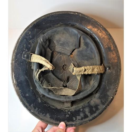 14 - WWII Air Raid Wardens Helmet circa 1939...