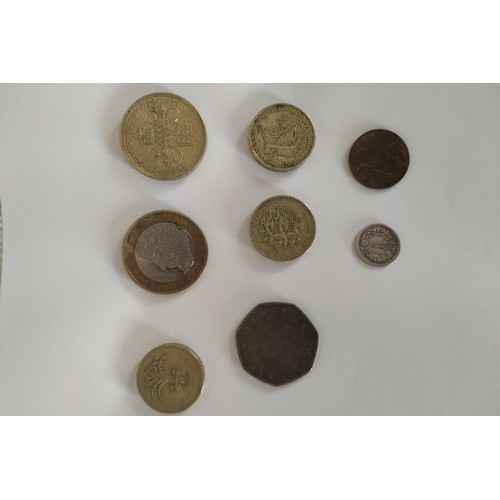 38 - Mixed Collection of rare Coins: £2 1989 Tercentenary Bill of Rights £2 2012 Charles Dickens, £1 1990...