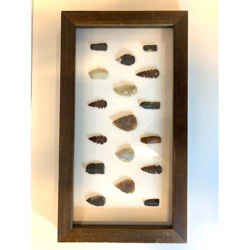 22 - A selection of Neolithic Tools to include Blades, Arrowheads etc from Greece, USA, France and other ...