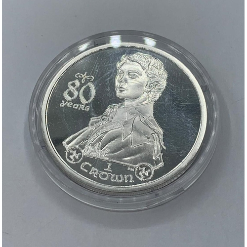 390 - 2006 Isle of Man commemorative CROWN .  Untouched in capsule.