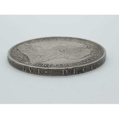 148 - 1893 Victorian silver crown