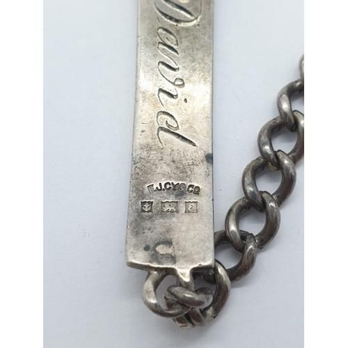 335 - 3 x Silver BRACELETS.  46.4g