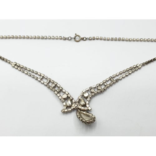 432 - Vintage Silver NECKLACE.  13.5g     36cm