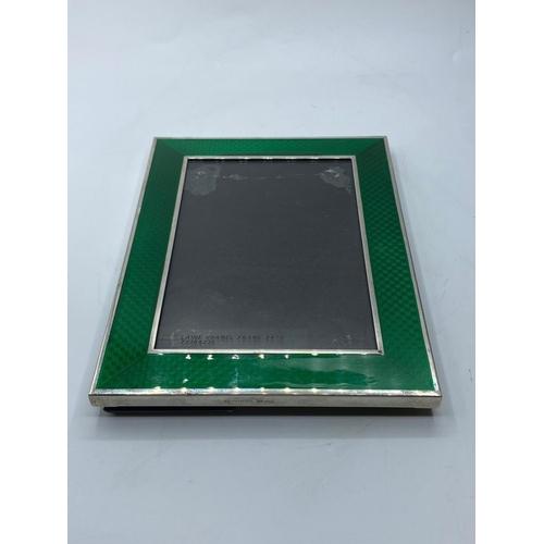 152 - Ralph Lauren silver photo frame