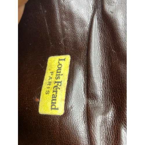 193 - Louis Feraud vintage designer clutch bag