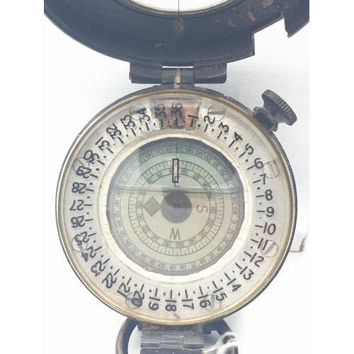 181 - War Department Army issue COMPASS WWII. 1939 MK111.