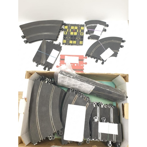 503 - Scalextric Track to include:  standard curve (14), Inner Curve (3) , Double Inner curve (2) , Straig...