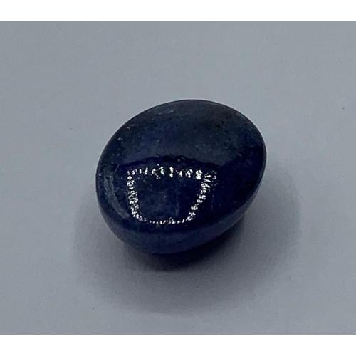 304 - 23cts cabochon Tanzanite Gemstone, 18.08x14.56x9.93mm