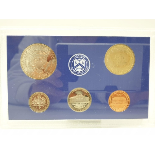 409 - United States MINT PROOF set of COINS issued by the Treasury.