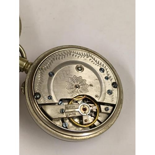 349 - Vintage Gent's POCKET WATCH.  Ticks but sometimes stops A/F