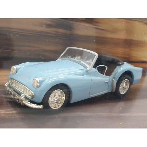 351 - Corgi MODEL Cars - to include TR3A Soft Top, Triumph TR3A Open Top and MGA Soft Top