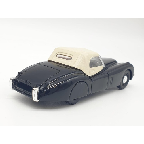 371 - 5 x Corgi Models - CLASSIC SPORTS CARS with base display board. to include  MGA and 2 each of Jaguar...