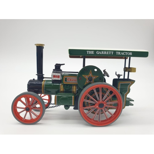 374 - 2 x Corgi Models - to include Vintage Fowler B6 Crane engine, plus Fred Dibnah's Road tractor.  Boxe...