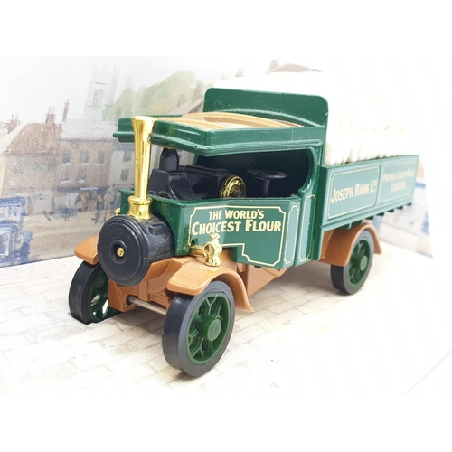 402 - 3 x Matchbox - Models of Yesterday to include Samuel Smith Brewery (Tadcaster) and Joseph Rank Flour...