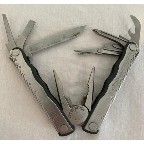 626 - Genuine Leatherman Multi-Tool, Leatherman 'Fuse' Model. Complete with Original Leather Pouch. Excell...