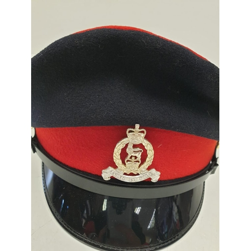 670 - Territorial ARMY CAP with Badge.
