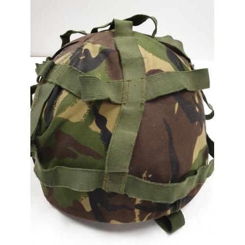 683 - British Army CAMOUFLAGE HELMET 2001/2002  (Medium)