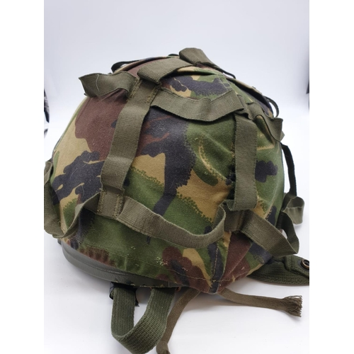 705 - British Army CAMOUFLAGE HELMET 1988/89  (Small)