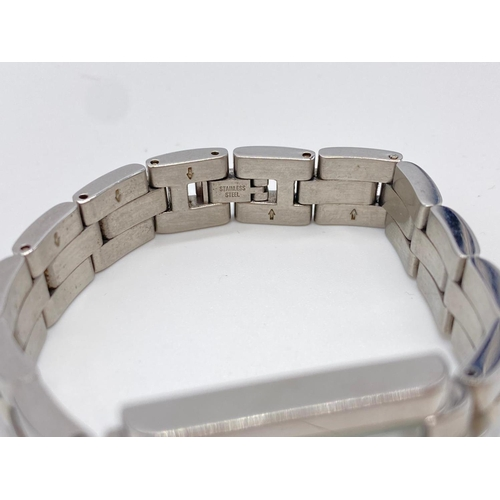 710 - Ladies Armani tank style watch