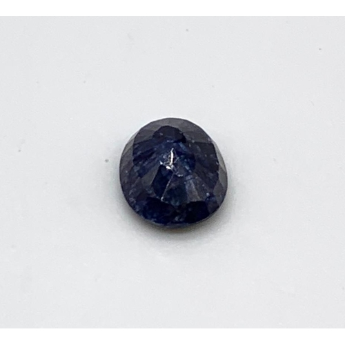 767 - 8.62ct Blue Sapphire IDT CERTIFIED