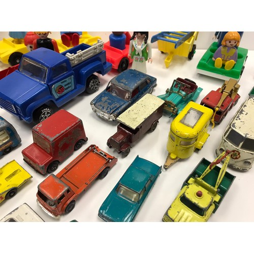 802 - Quantity of Moko Lesney cars some Tonka and other items