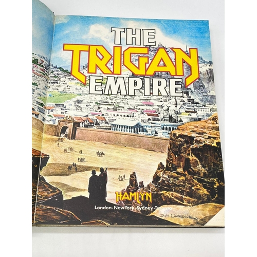 760 - The Trigan Empire 1978 hardback comic book with 7 stories illustrated in full colour
