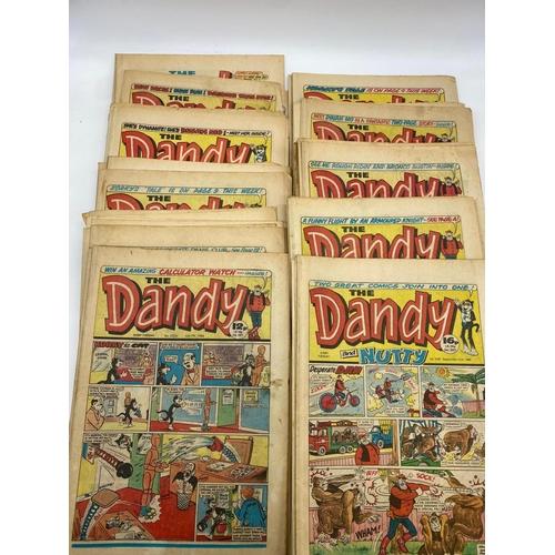 779 - 50x issues of 1980s Dandy comics