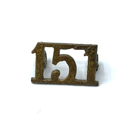 33 - WW2 151st (Indian) Indian Parachute Brigade Pagri Badge. Raised on 29th October 1941 with 151 Britis...