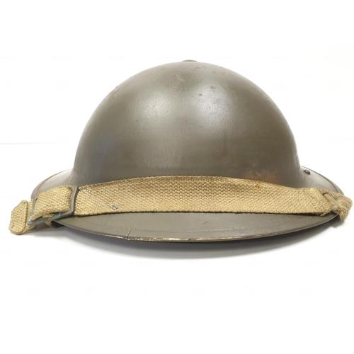 56 - WW2 Royal Artillery Helmet with Anti Air Craft Unit Insignia.