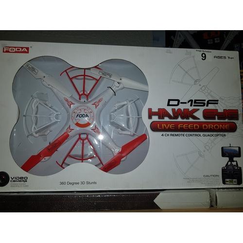 9 - Hawk Eye live feed Drone...