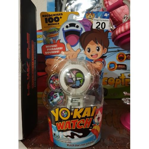 20 - Yo Kai kids Watch...