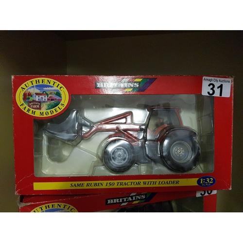 31 - same Rubin Tractor & Loader...