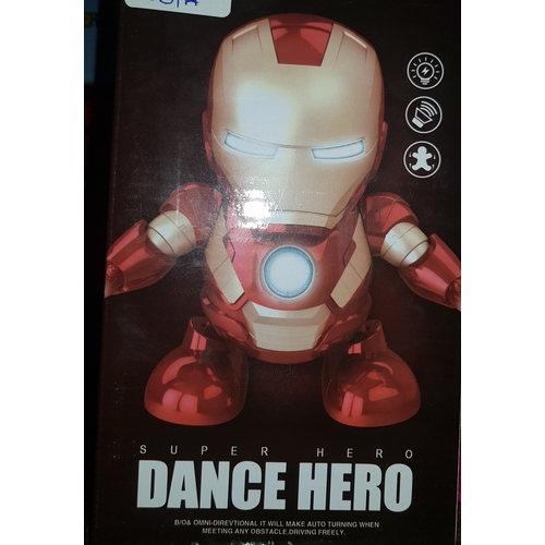 34 - New Iron Man Dance Hero Toy...