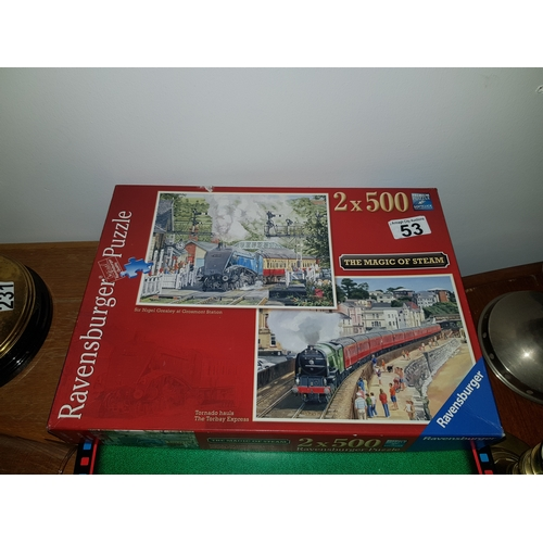 53 - Old Steam Engine Puzzle Complete...