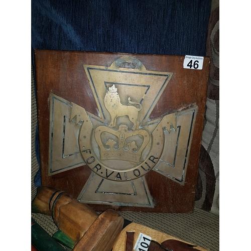 46 - Old Victorian Cross...