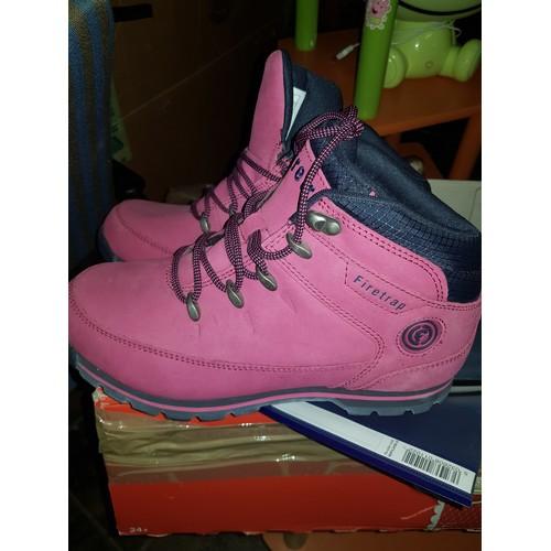 51 - Ladies pink firetrap walking boots size 6.5/7...