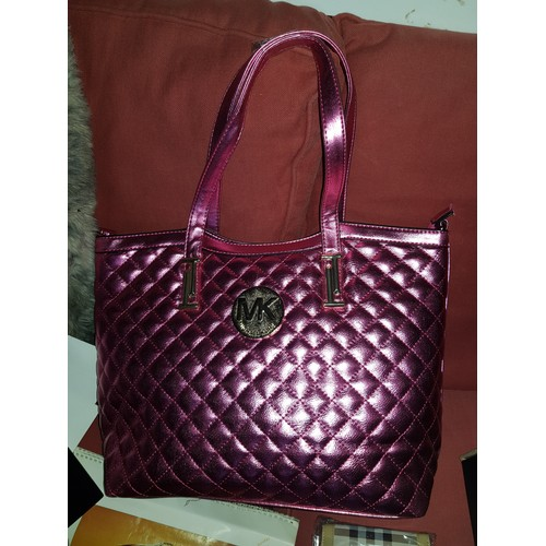 11 - pink michael kors handbag...