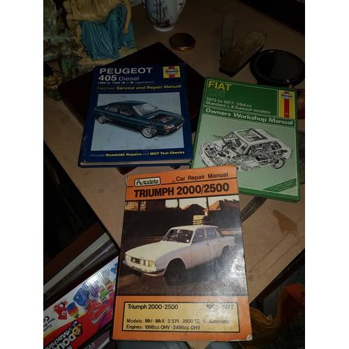 27 - 3 car books...