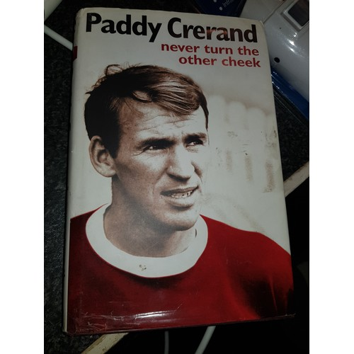 44 - Paddy Crerand book-Never turn the other cheek...