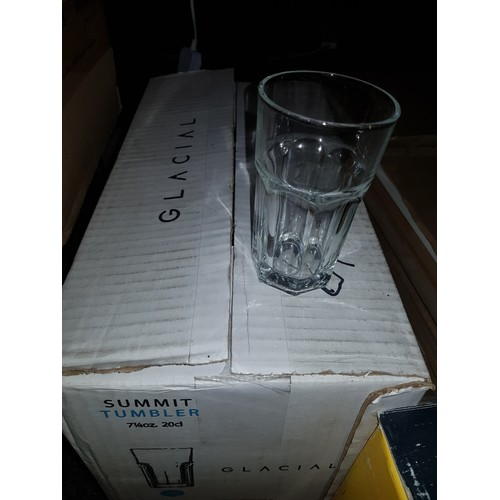 10 - Case of new Tumblers x 24...
