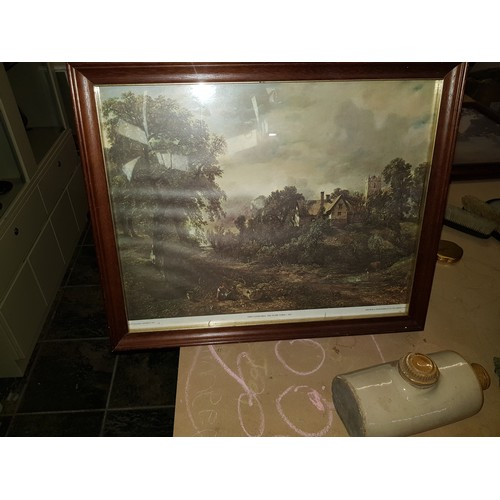 37 - John constable print-the glebe farm 1827...