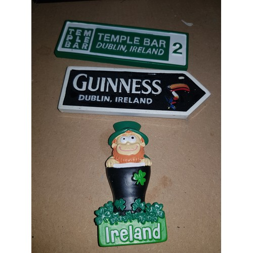 52 - 3 Guinness Ireland Magnets...