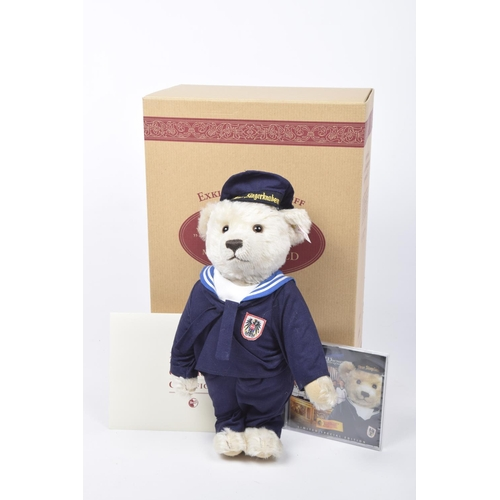13 - A boxed Steiff teddy bear 'Vienna Choirboy' Off white, to celebrate the 500th Anniversary of the Vie...