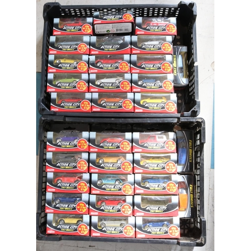 36 - Action City Fast Wheels - Approx 60 Boxed Model Cars...