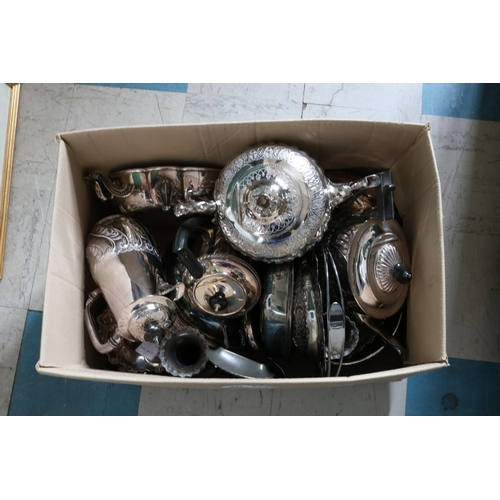 40 - Quantity of Large Plated Items...