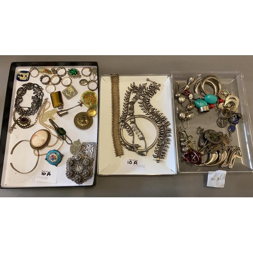 10A - Silver Jewellery, Silver Chains, Necklaces, Earrings, etc...