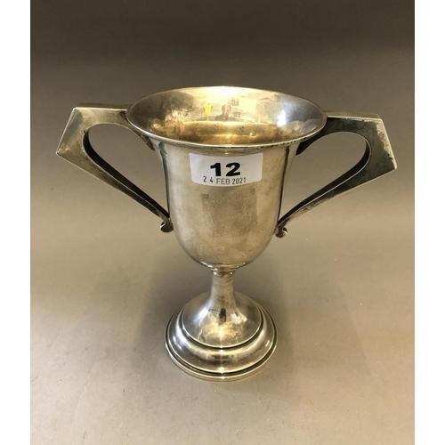 12 - Silver Trophy...